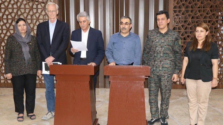 Rojavadan herkesi sevindiren haber: ENKS ve PYD anlaştı