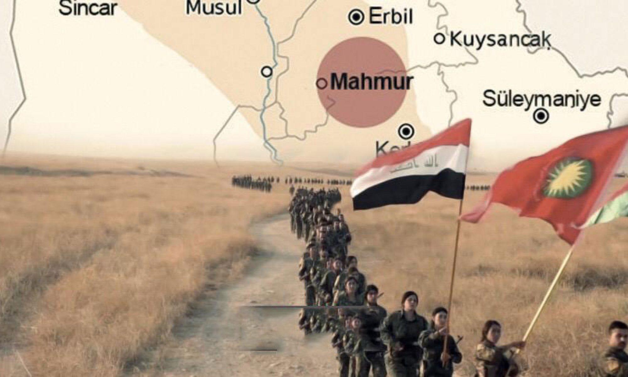 Zebari: Mahmur Kampı askeri amaçla kullanıldığı için 2003 yılından bu yana uluslararası gözetim altında