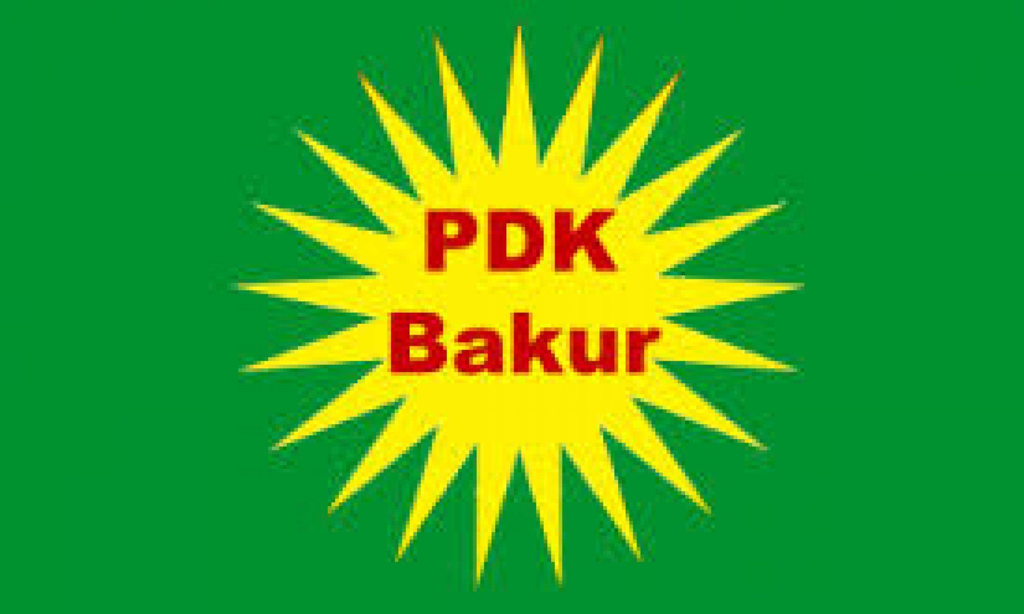 PDK-Bakur'dan Ankara ve PKK'ye: Kürdistan'ın meşru otoritesini tanıyın