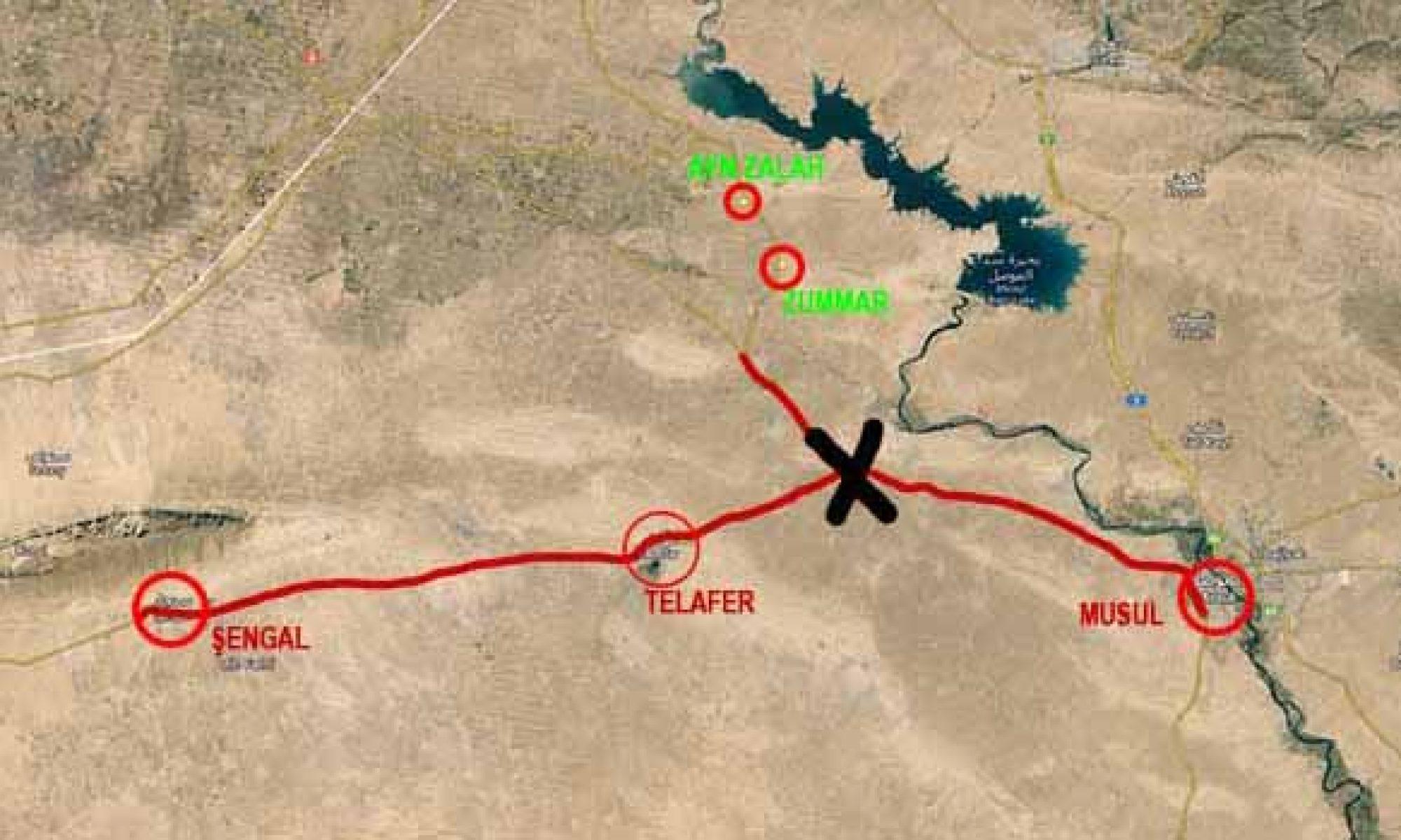 Ezidi Kürtler ve Hristiyanlar için tehlikeli gelişme, Şengal-Zumar sınırında yeni bir Haşdi Şabi gücü kuruluyor