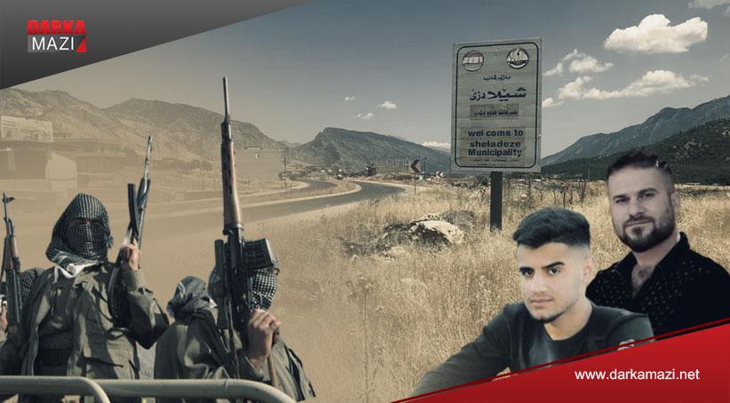 PKK Şeladize bölgesinde alıkoyduğu üç genci bırakmak için para talep etti