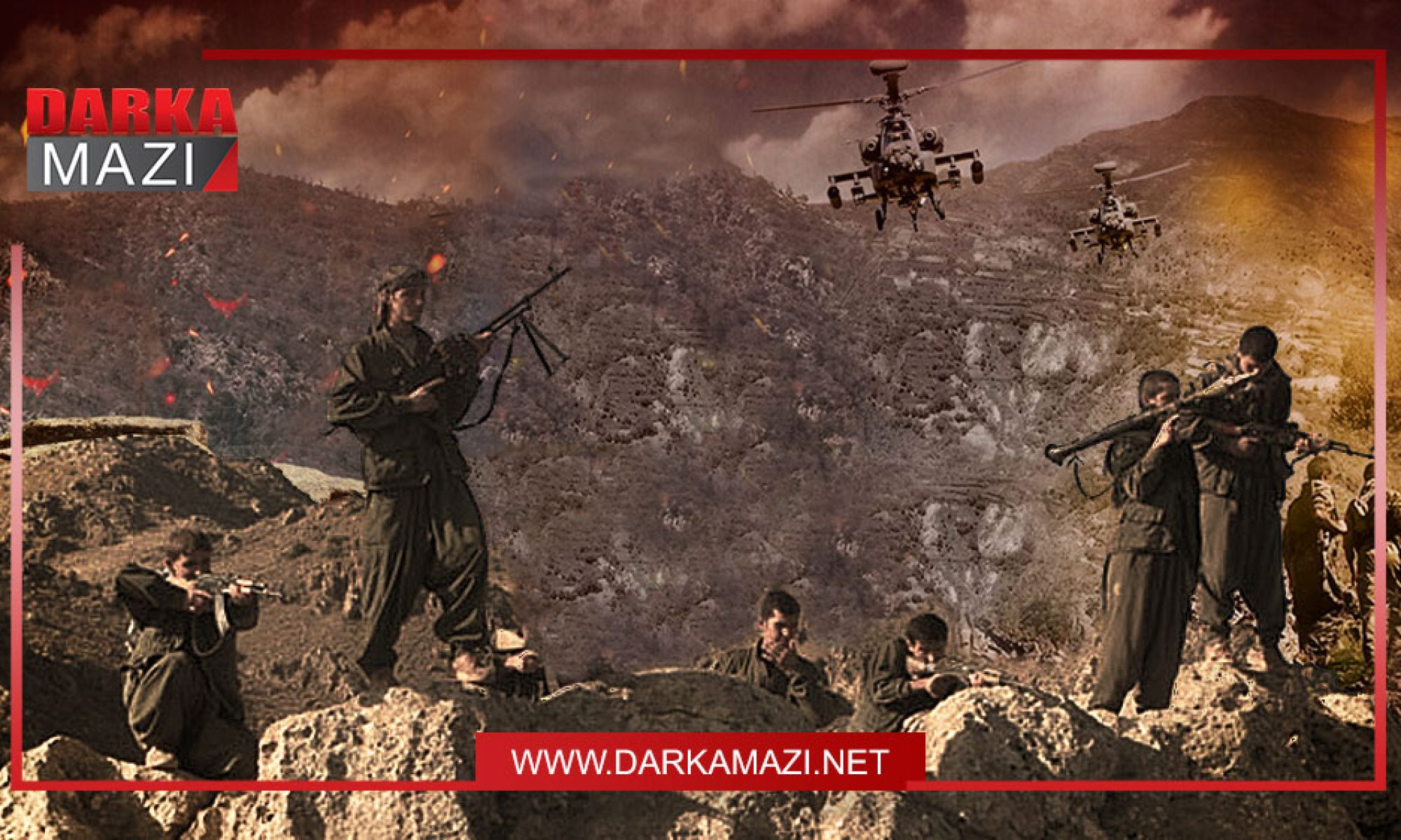 Haftanin'de neler oluyor: Hatalar, eleştiriler, gerçekler ve çözüm operasyon, PKK; Kürdistan, IKYB, Misakı Milli