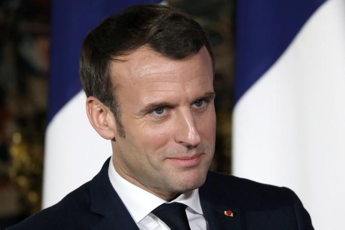 Macron: Doğu Akdeniz'in güvenliğini Türkiye'ye bırakmak hata olur