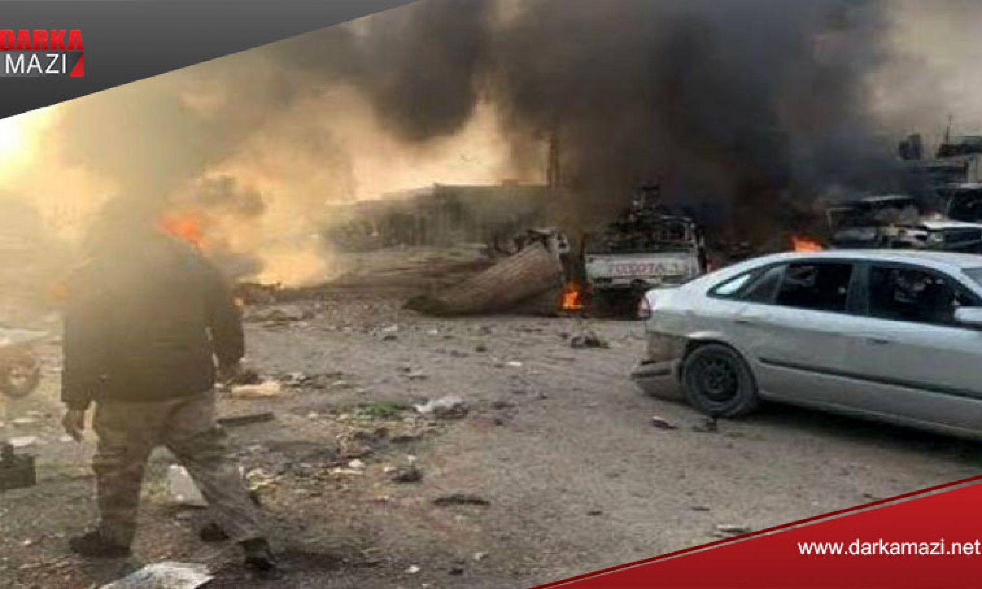 Serê Kanîye'de şiddetli patlama: Ölenlerin sayısı arta bilir