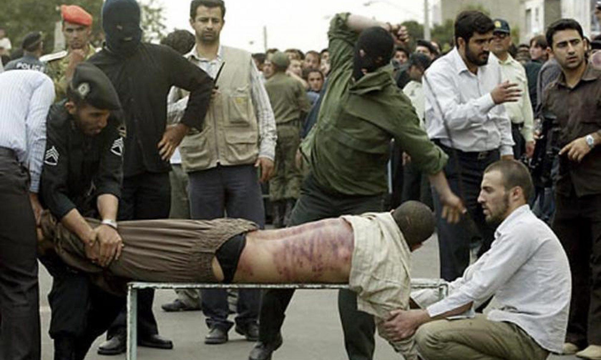 İran Mahkemesi Doğu Kürdistan'ın Bane kentinde ki insan hakları aktivistlerine 250 kırbaç cezası verdi