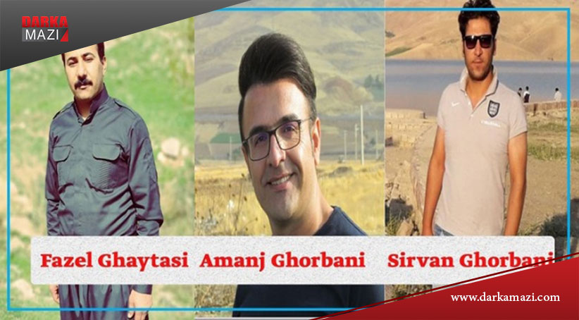 """Doğu Kürdistan'lı 3 aktiviste """"ülke güvenliğine karşı gelme"""" suçlaması ile 3 yıl hapis cezası"""