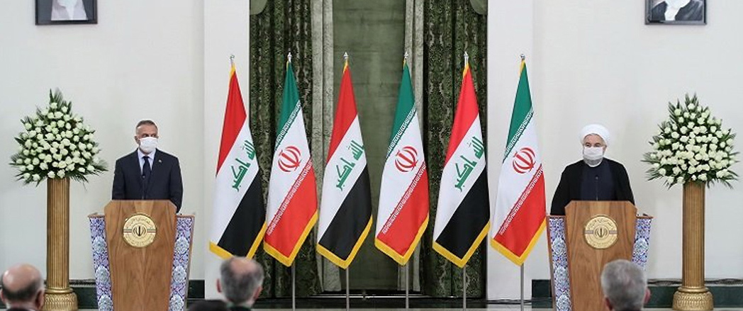 Irak Başbakanı Kazimi, İran'a ulaştı Ruhani, iran