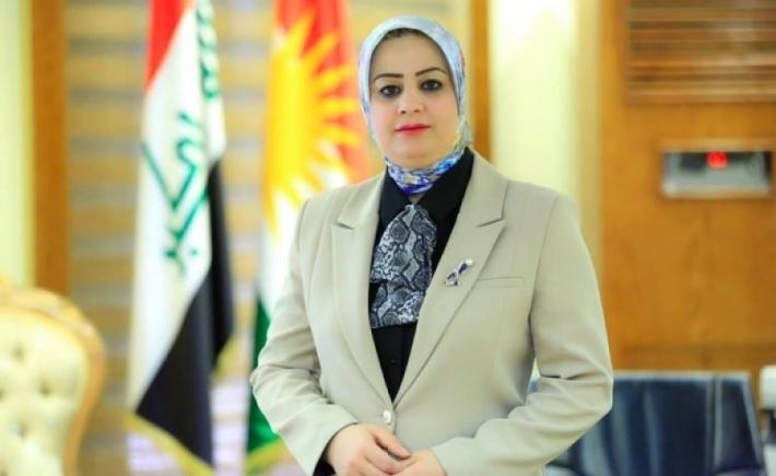 Kürdistan Parlamento sekreteri Mina Kahveci: Kürdistan Bölgesi sınırlarındaki İran ve Türkiye saldırılarını görüşmek üzere parlamanto toplanacak