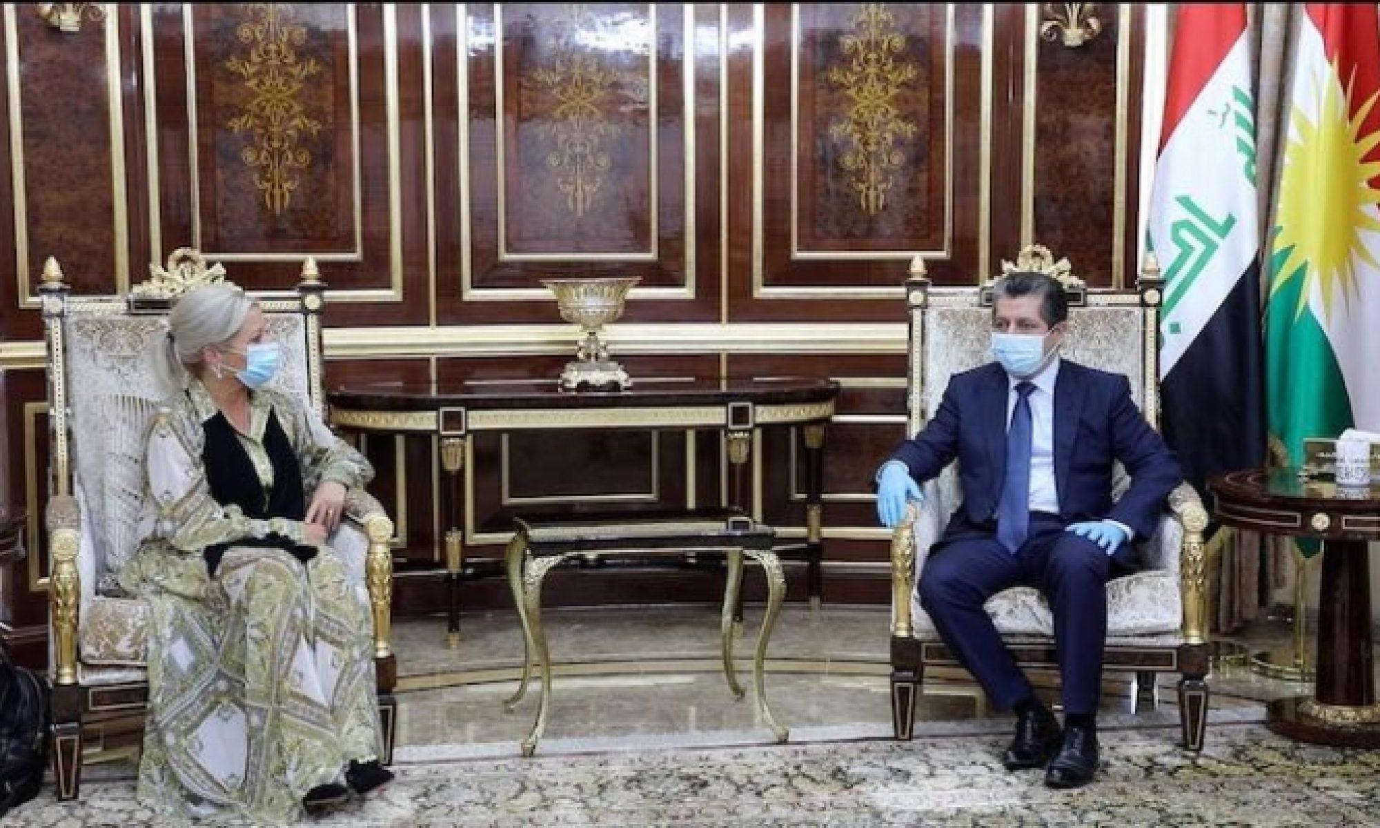 UNAMI Temsilcisi ve Başbakan Mesrur Barzani görüştü