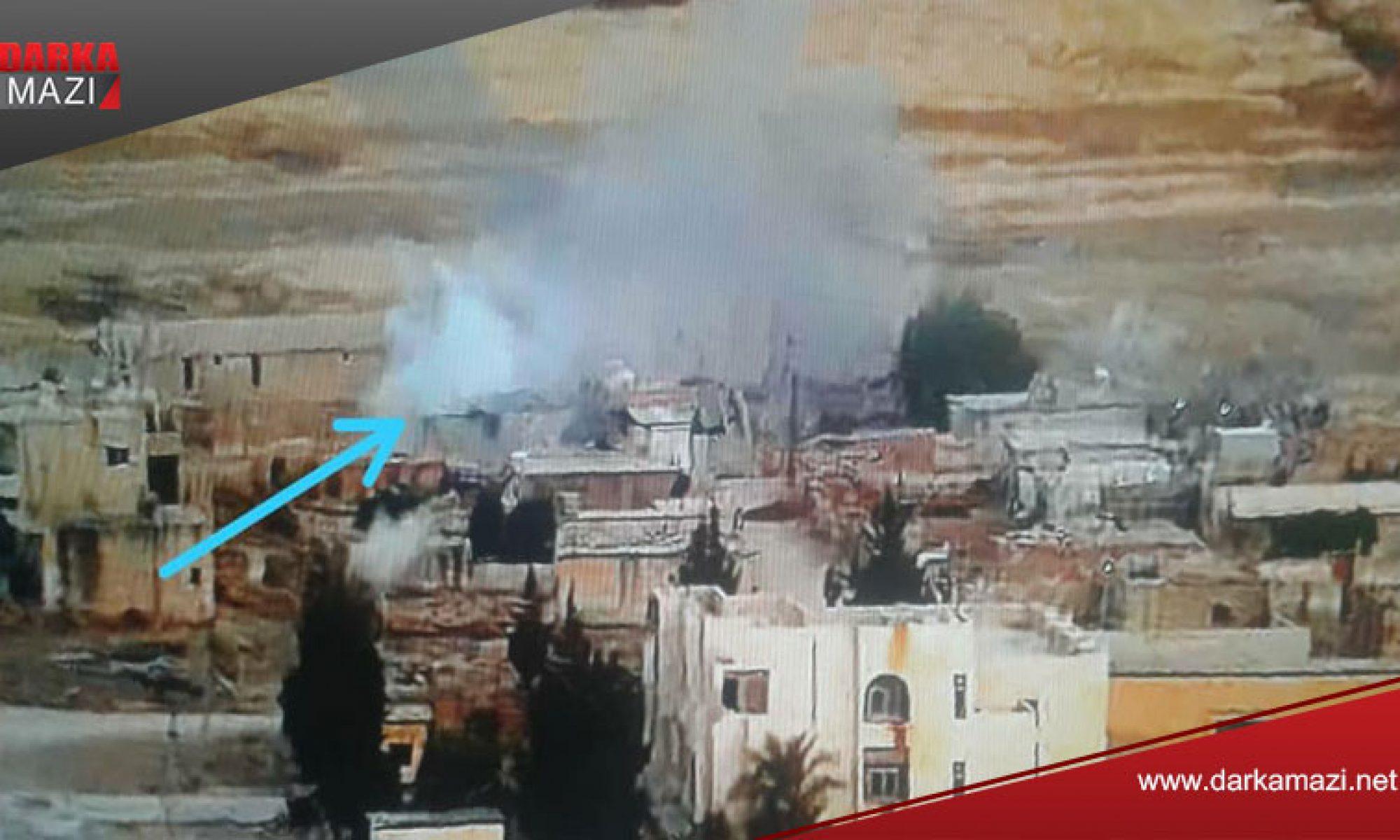 Türk devletine bağlı çeteler Zirgan'a saldırdı