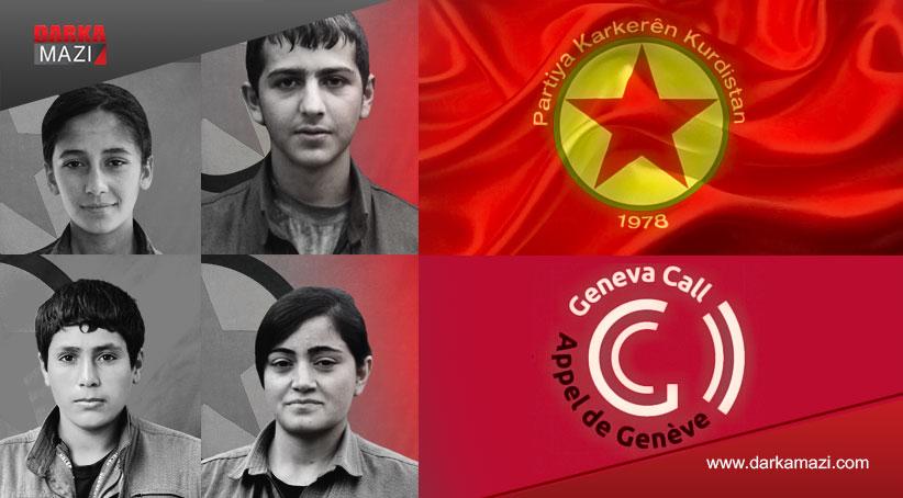 PKK'nin sürekliliğinin garantisi: Çocuk savaşçılar