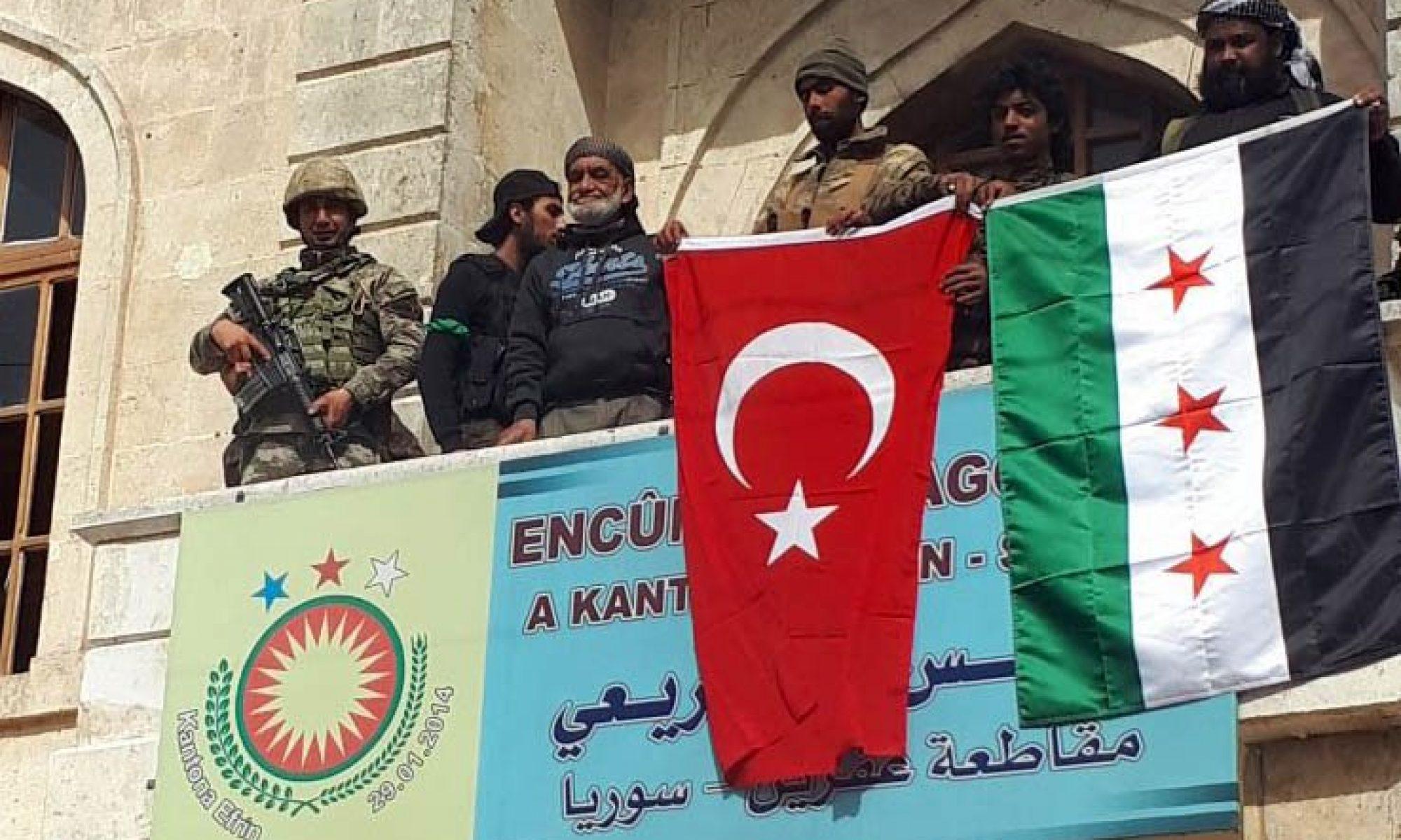 Türkiye'ye bağlı çeteler Efrin'de biri kadın 7 kişi kaçırdı