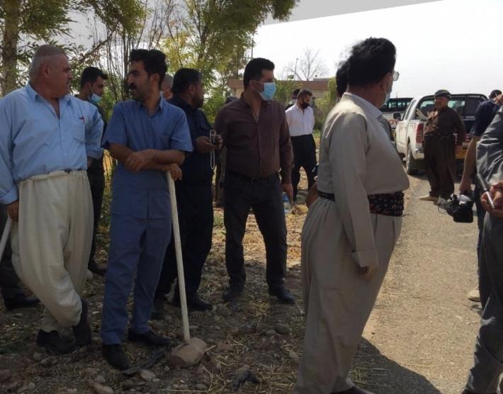 Kerkük: Kürt köylüler topraklarına yerleşmek isteyen Araplara karşı ayaklandı