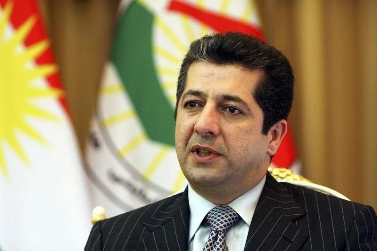 Mesrur Barzani: Gösteri yapma haktır ancak kamu malını yakmak suçtur Kürdistan, KRG,