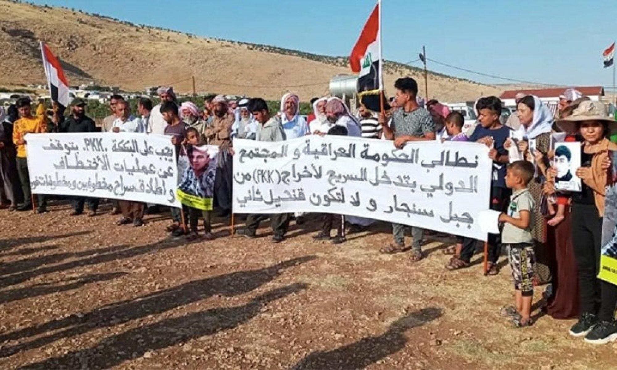 Ezidi Evi Sözcüsü: PKK'nin varlığı Ezidiler ve Şengal Dağı için büyük tehlikedir