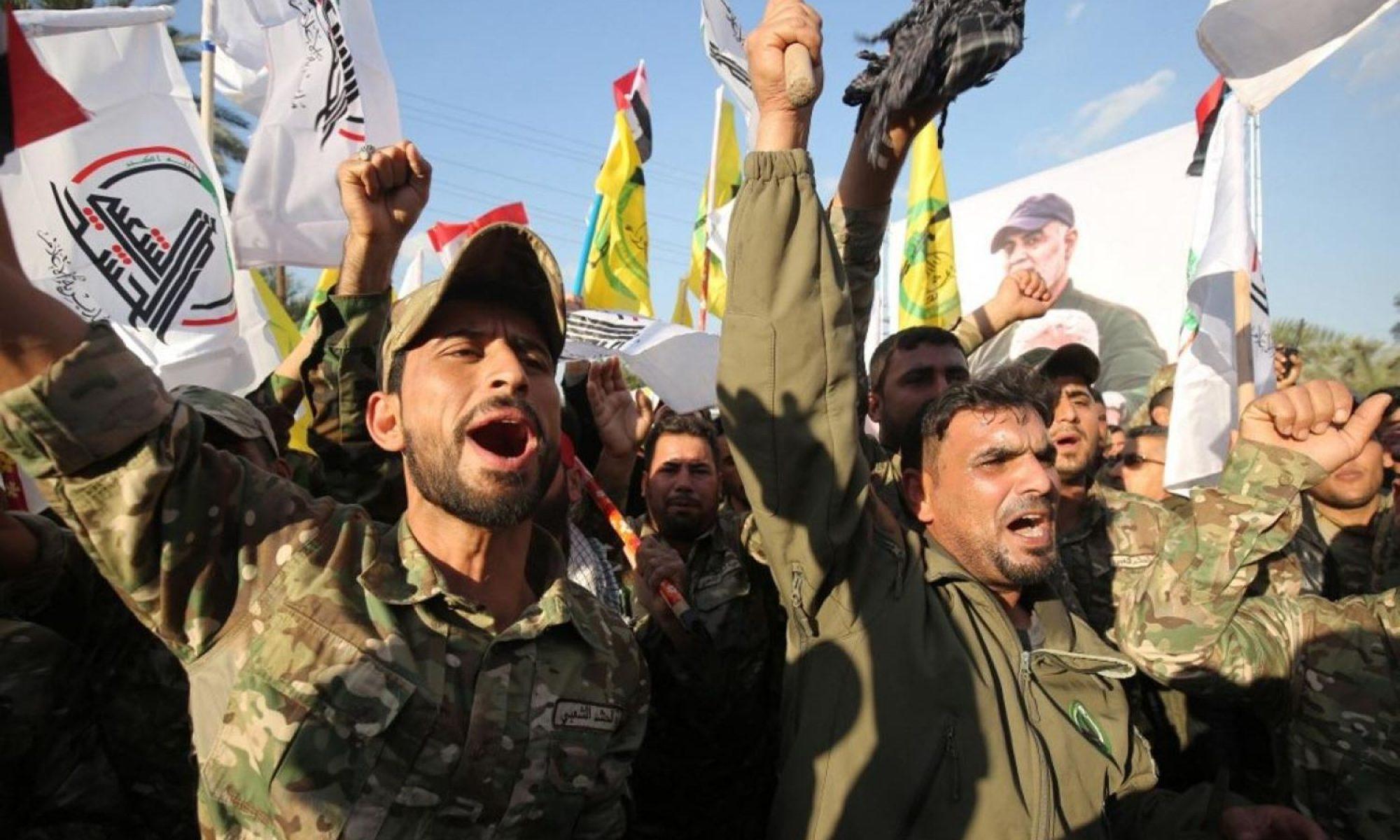 Şii milisler Haşdi Şabi'nin en radikal ve Kürt düşmanı gurubu Kerkük çevresine getirildi, Haşdi İmameyn. Dakuk,