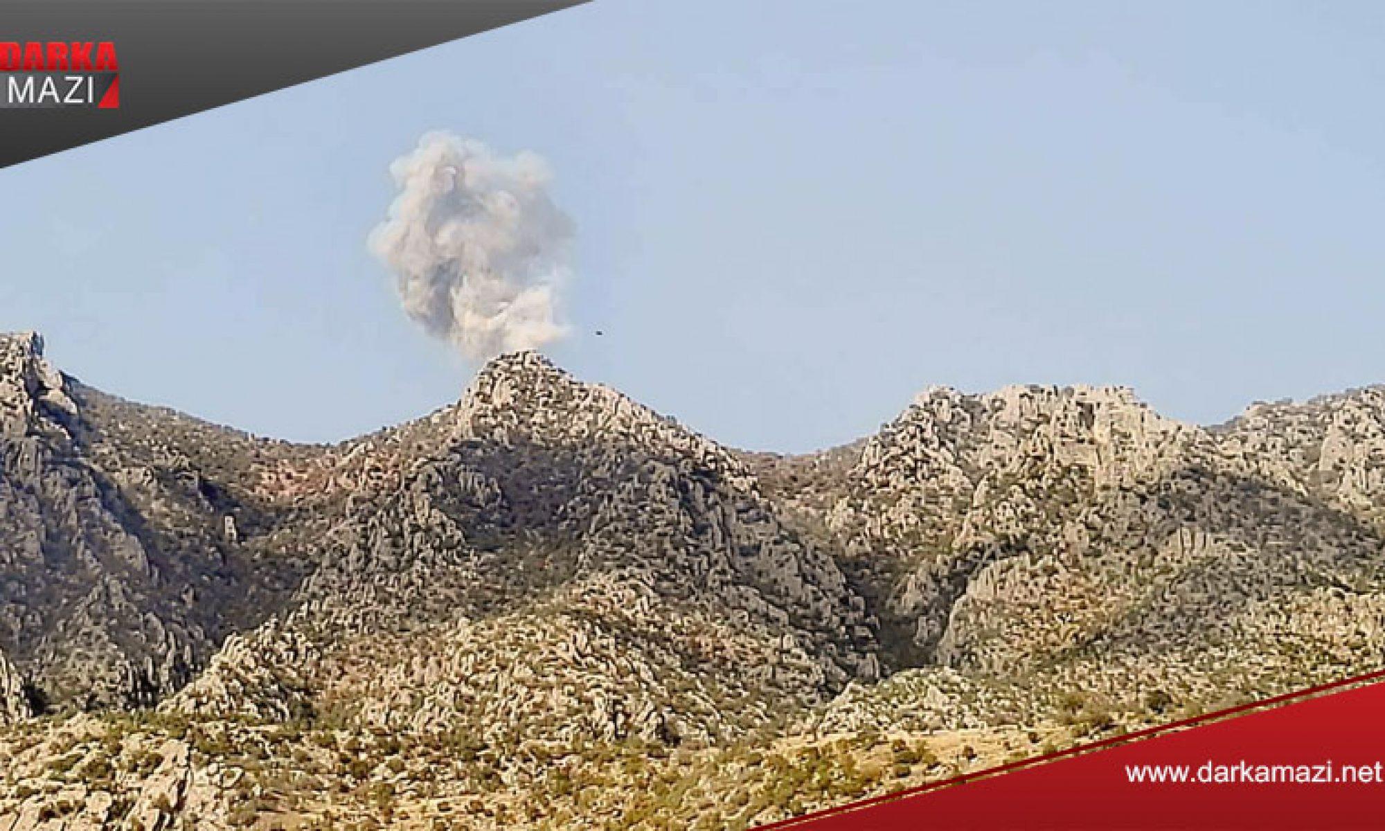 Metina dağı TSK tarafından vuruldu, iki gerilla hayatını kaybetti PKK, HPG kürdistan bölgesel yönetimi