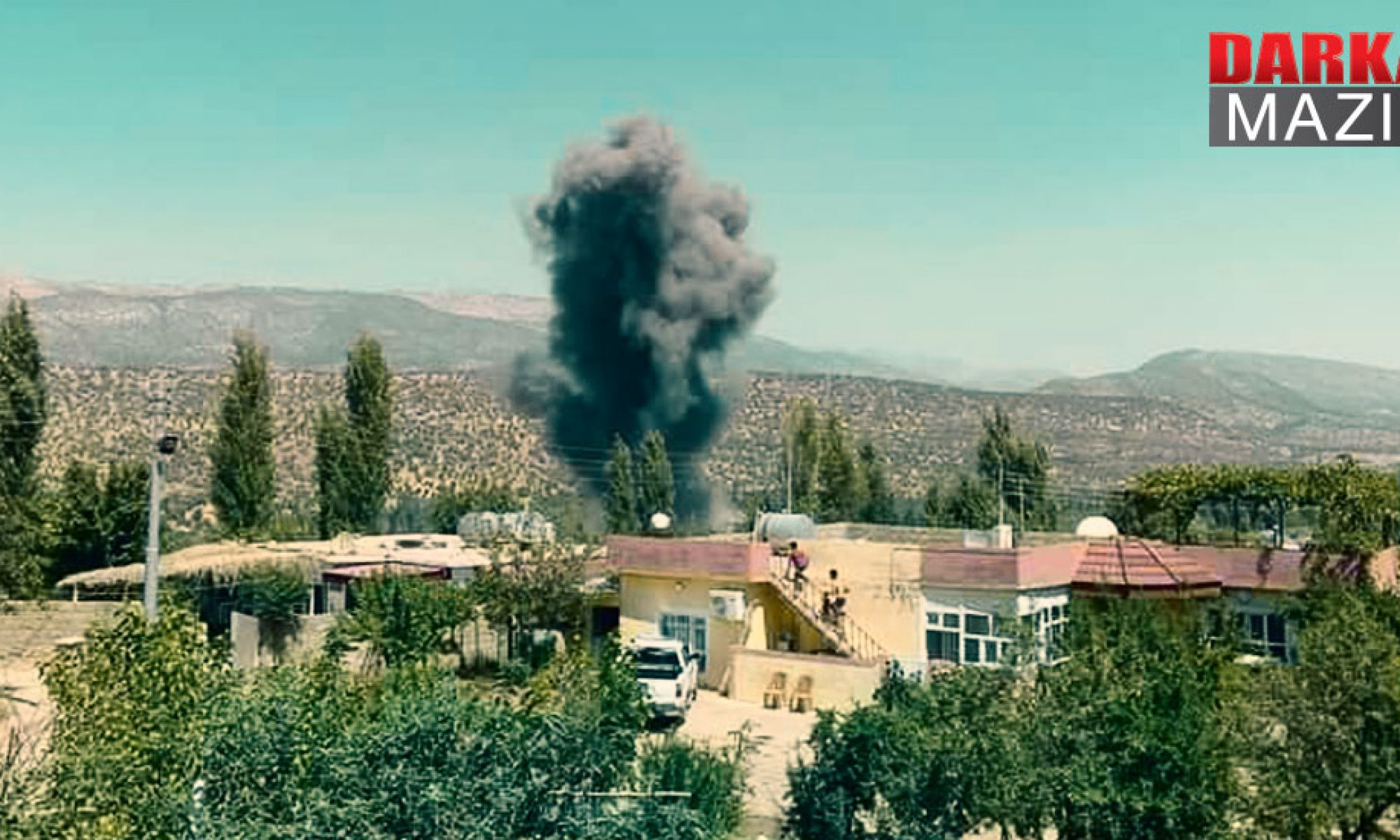 Berwari Bala: TSK'nın Hava saldırısında bir öğretmen ve 4 gerilla hayatını kaybetti Duhok, Kani Masi, Kani Mezınê, PKK,