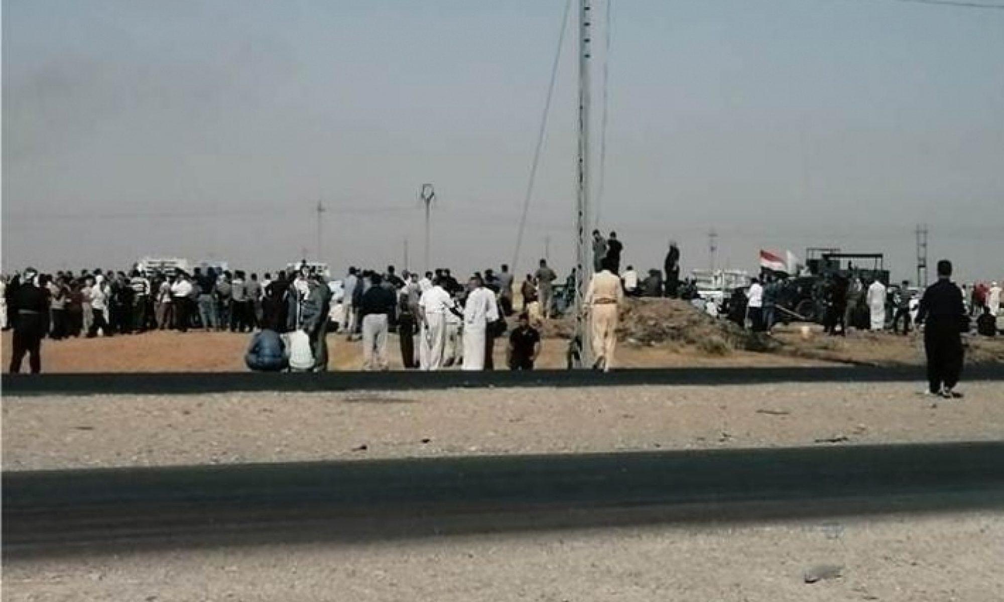 Kerkük'te topraklarına el konmak istenen halk: Irak devleti kurulmadan da bu topraklar bizimdi