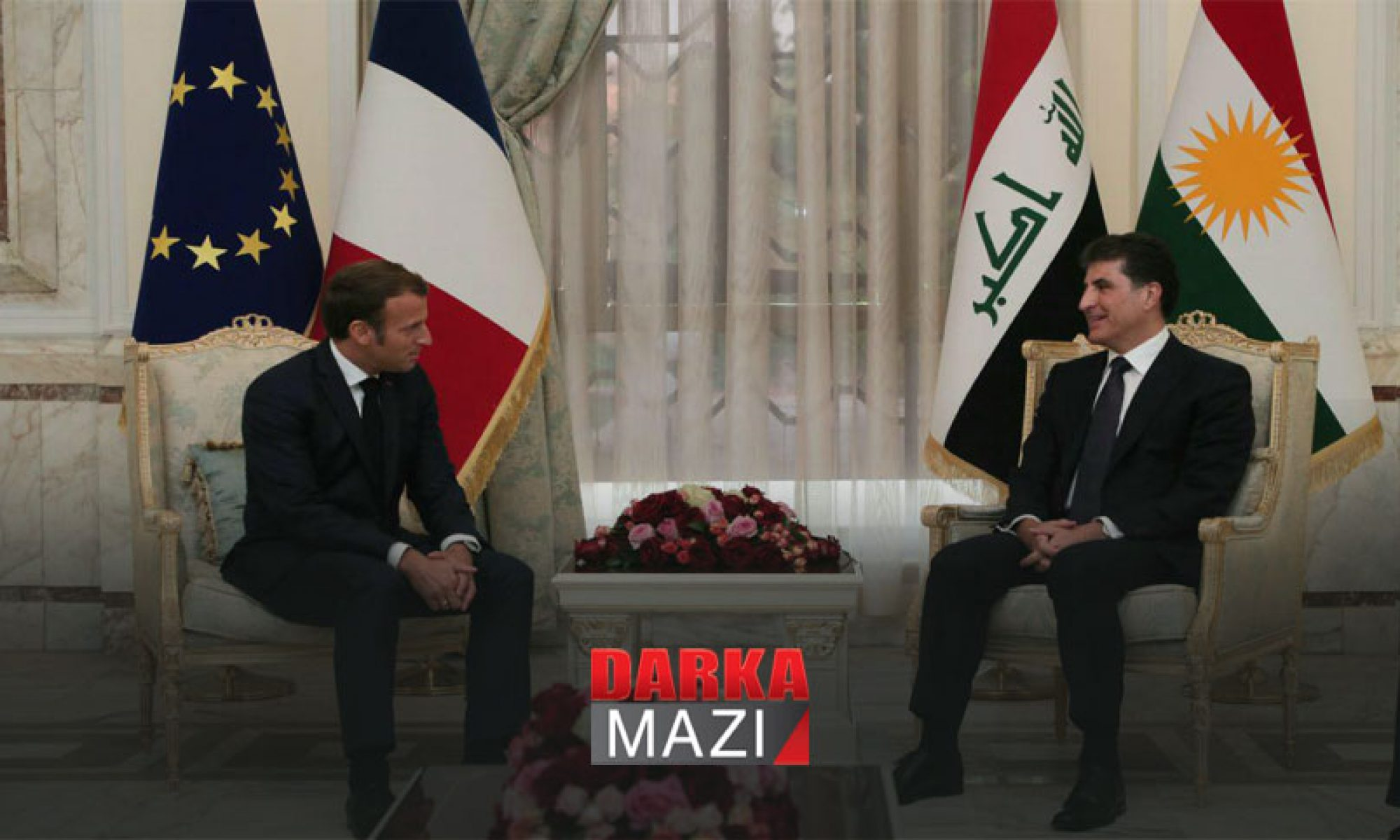 Neçirvan Barzani: Macron ile görüşmelerimiz yapıcıydı,, Bağdat, Fransa, Kürdistan