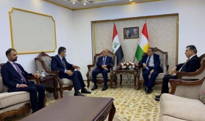 Kürdistan Bölgesi Hükümeti Müzakereler Heyeti Bağdat'a ulaştı