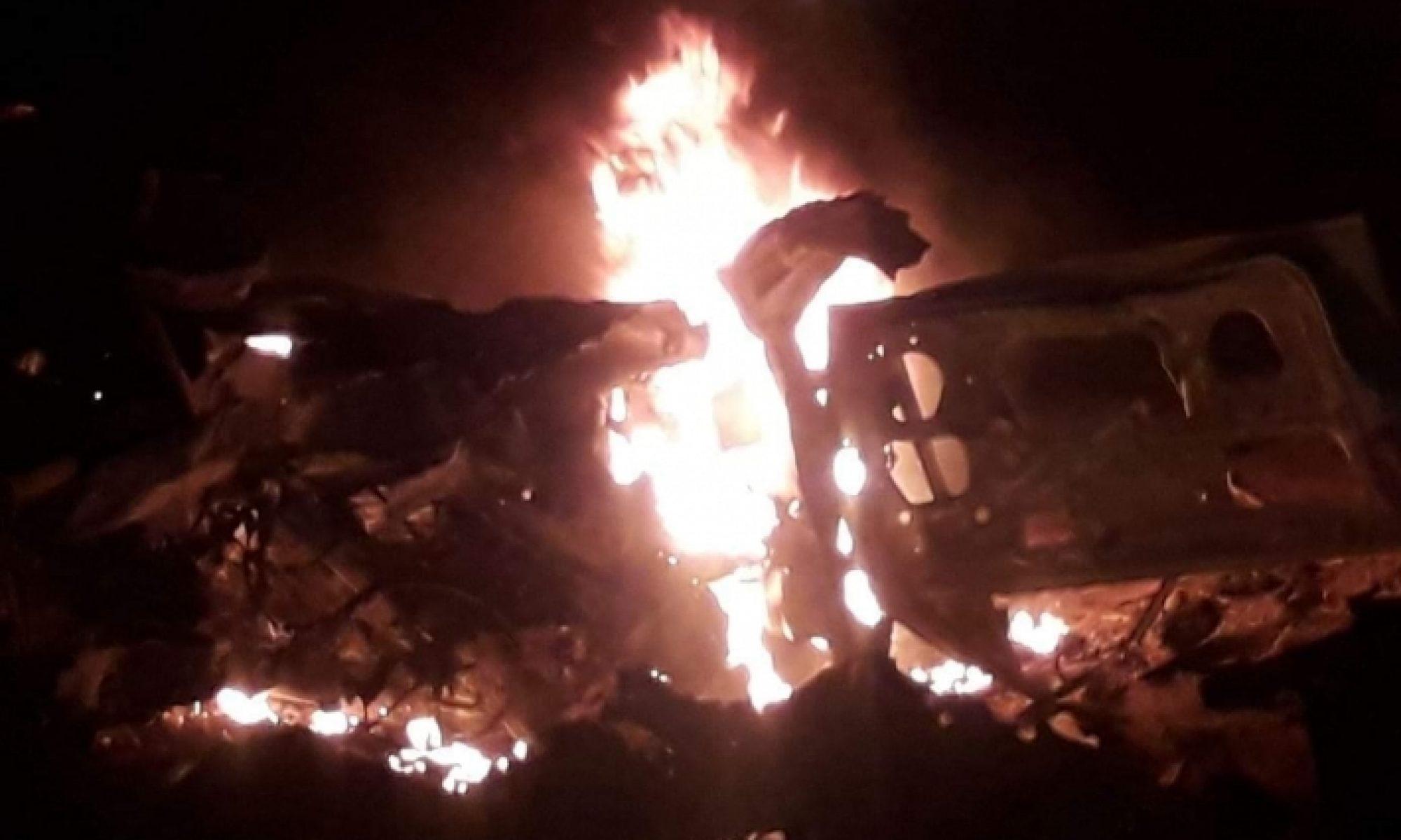 Irak Medya Güvenlik Ağı: Şengal'de içinde üç PKK'linin olduğu araç uçaklarca vuruldu