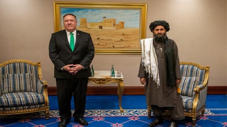Pompeo Taliban liderleriyle görüştü
