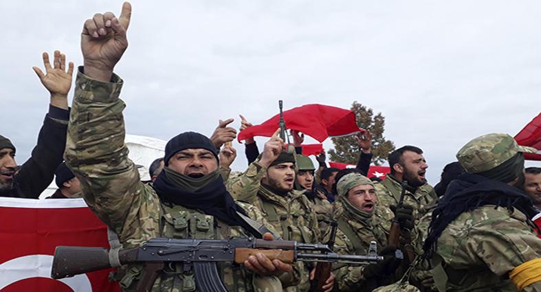Efrin'de zeytinlere el koymak isteyen çeteler 2'si kadın 12 kişiyi kaçırdı