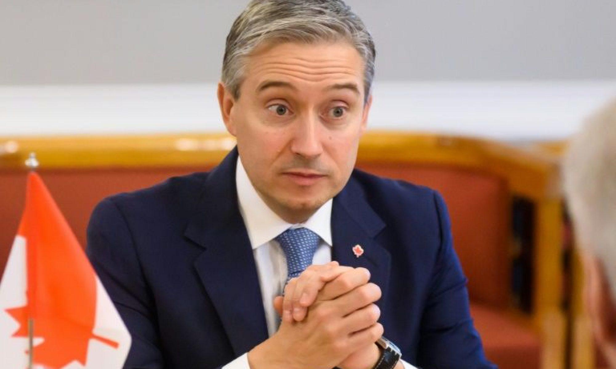 Kanada Dışişleri Bakanı: Türkiye'ye satılan silahlar insan hakları ihlallerine yol açıyor, satışı askıya François-Philippe Champagne