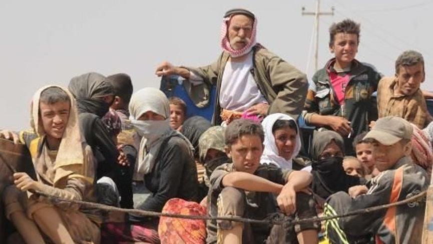 Rojava'da aftan yararalanan IŞİD'lilere Ezidilerden tepki geldi