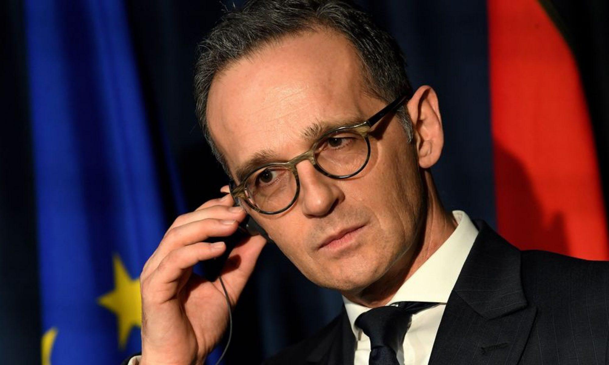 Heiko Maas: Türkiye provakasyondan kaçınmalı, gaz arayışını sona erdirmeli