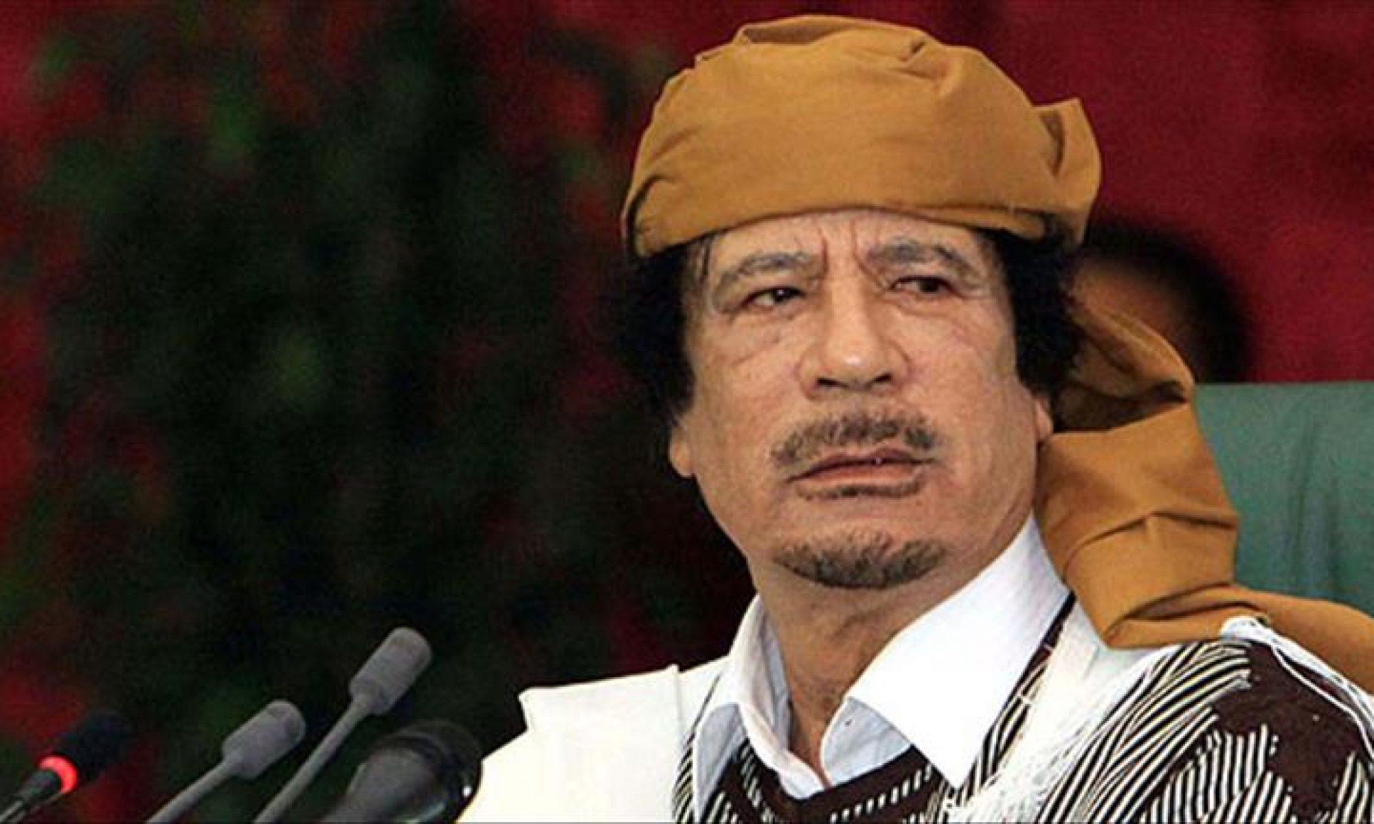 Kaddafi'nin kaybol paraları yine Türklerde bulundu