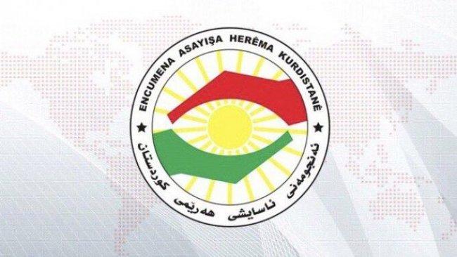 Kürdistan Bölgesi Güvenlik Konseyinden yeni açıklama