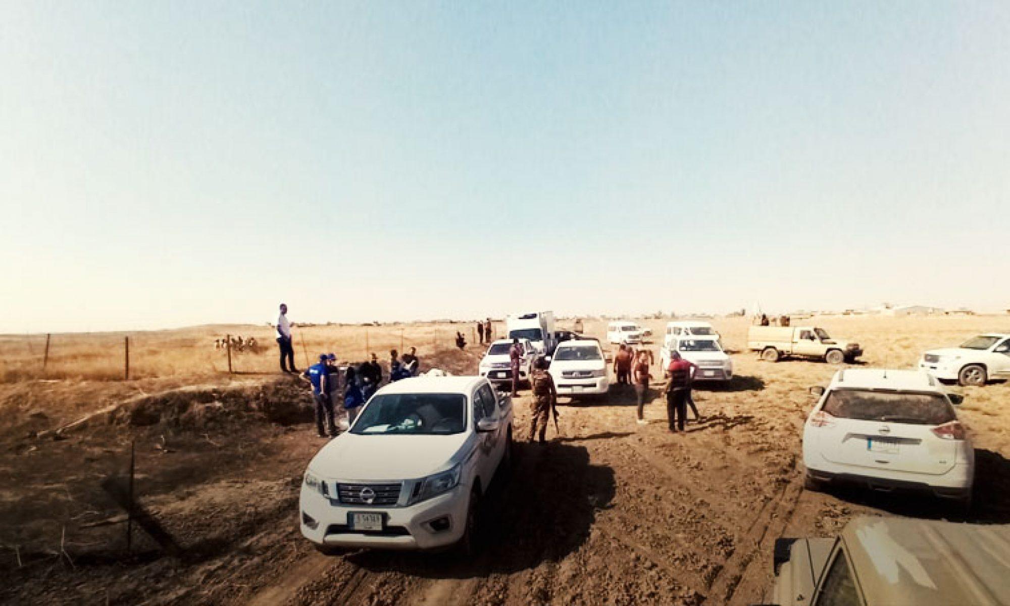 KürdistanŞehit Ve Enfal Bakanlığı: Şengal'deki toplu mezarların açılmasına bu gün başlanıyor