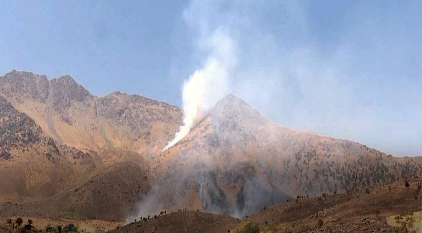 İran rejiminden Bradost bölgesine top atışı Berbizin, Sidekan