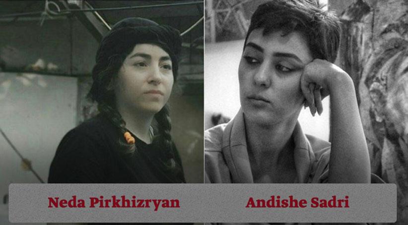İran istihbarat örgütü itlaat Tahran'da iki Kürt kadın aktivisti Endişe Sedirî ve Neda Pirziryan