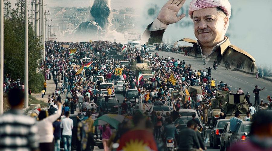 Görmezden gelinen Kürtlerin Kobani dayanışması ve Barzani farkı