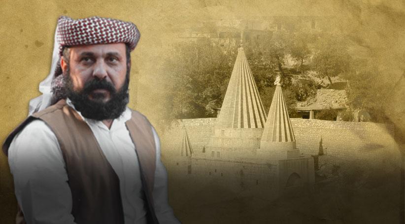 Ezdilerin yeni Baba Şêx'i Şêx Elî Elyas Hecî Nasir oldu, Kurdistan, Laleş, Şexan,