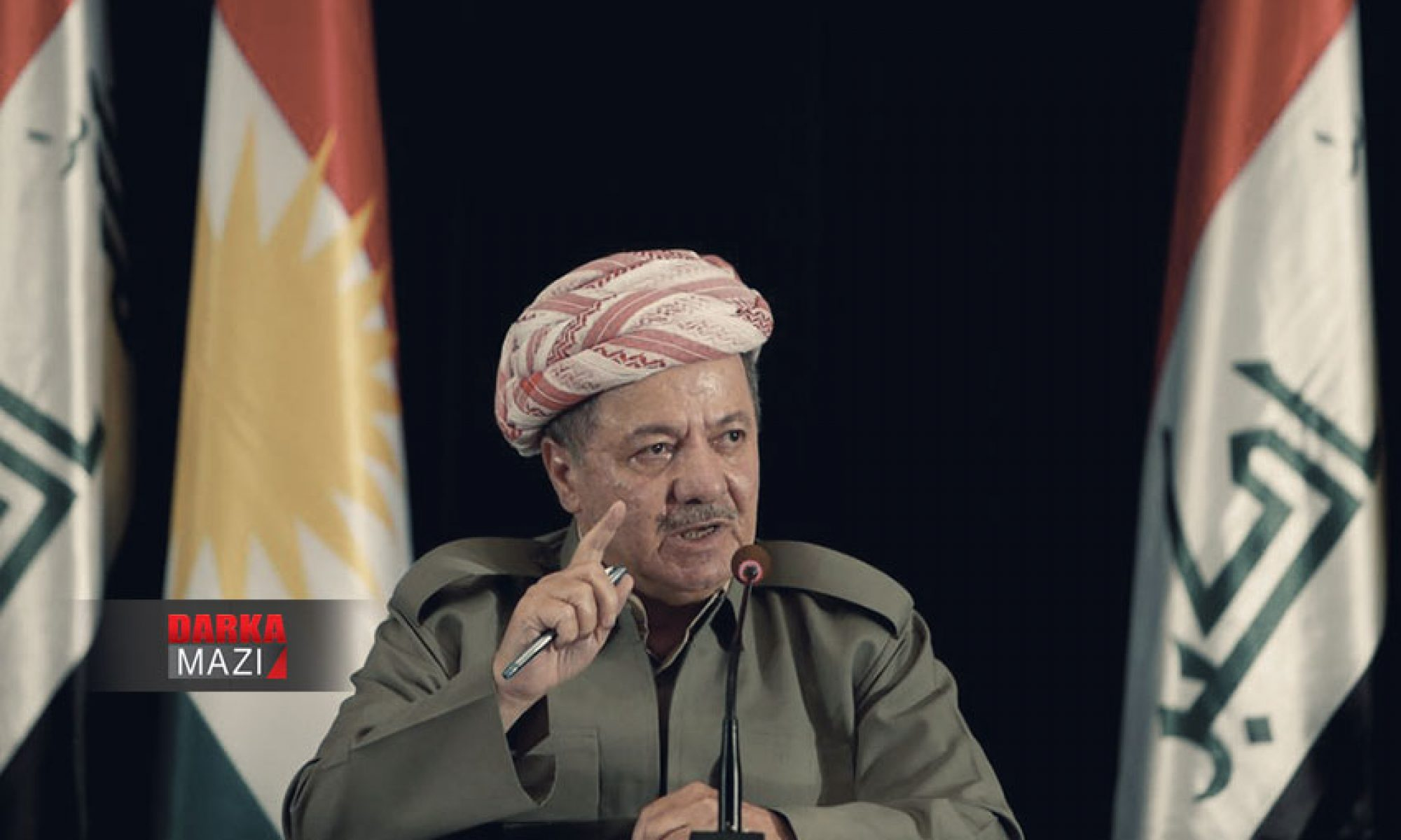Ben Kürtler arası savaşı haram kılmaktan büyük bir onur duyuyorum. Çünkü en büyük zararı bu savaşlarda gördük, Mesut Barzani, iç savaş, Kürdistan, PKK, KBY, Hereme Kurdistan