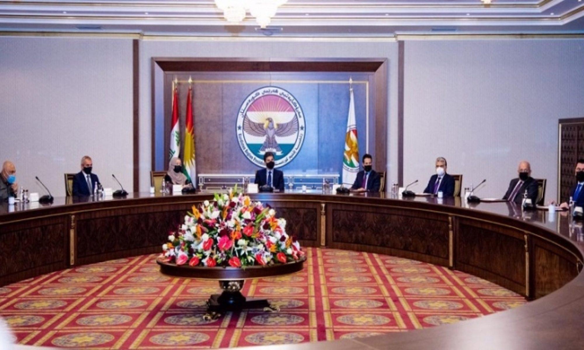 Kritik başkanlar toplantısı başladı, Neçirvan Barzani, Kürdistan, Irak Parlamentosu, Bütçe, Kürdistan Parlamentosu