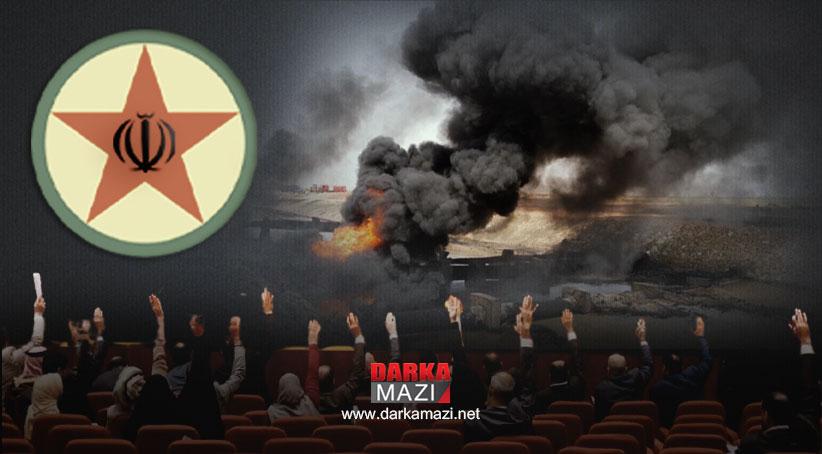 PKK'nin patlattığı boru hattının dumanı Irak parlamentosunda tütüyor