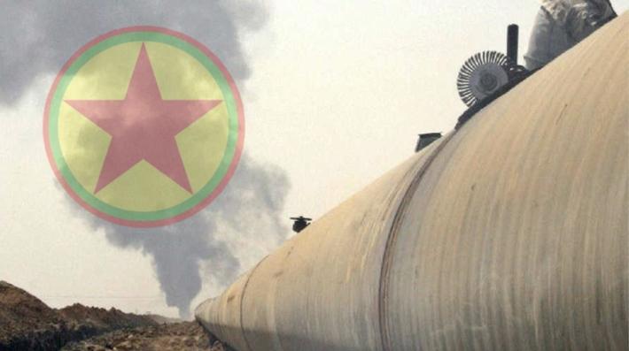 PKK'nin patlattığı petrol boru hattı 110 milyon dolar zarardan sonra bu gün yeniden açıldı