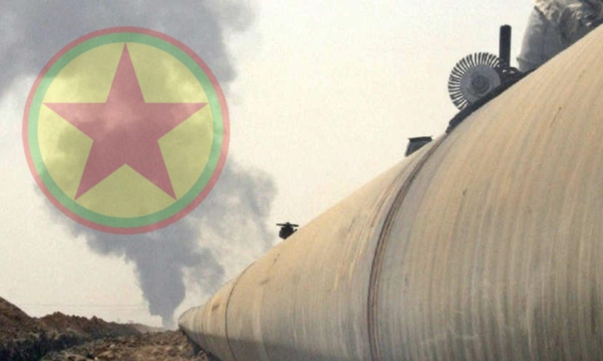 Petrol hatlarına saldırı terör saldırısıdır, Kerkük-Ceyhan Boru hattı, PKK, Kürdistan Bölgesel Yönetimi