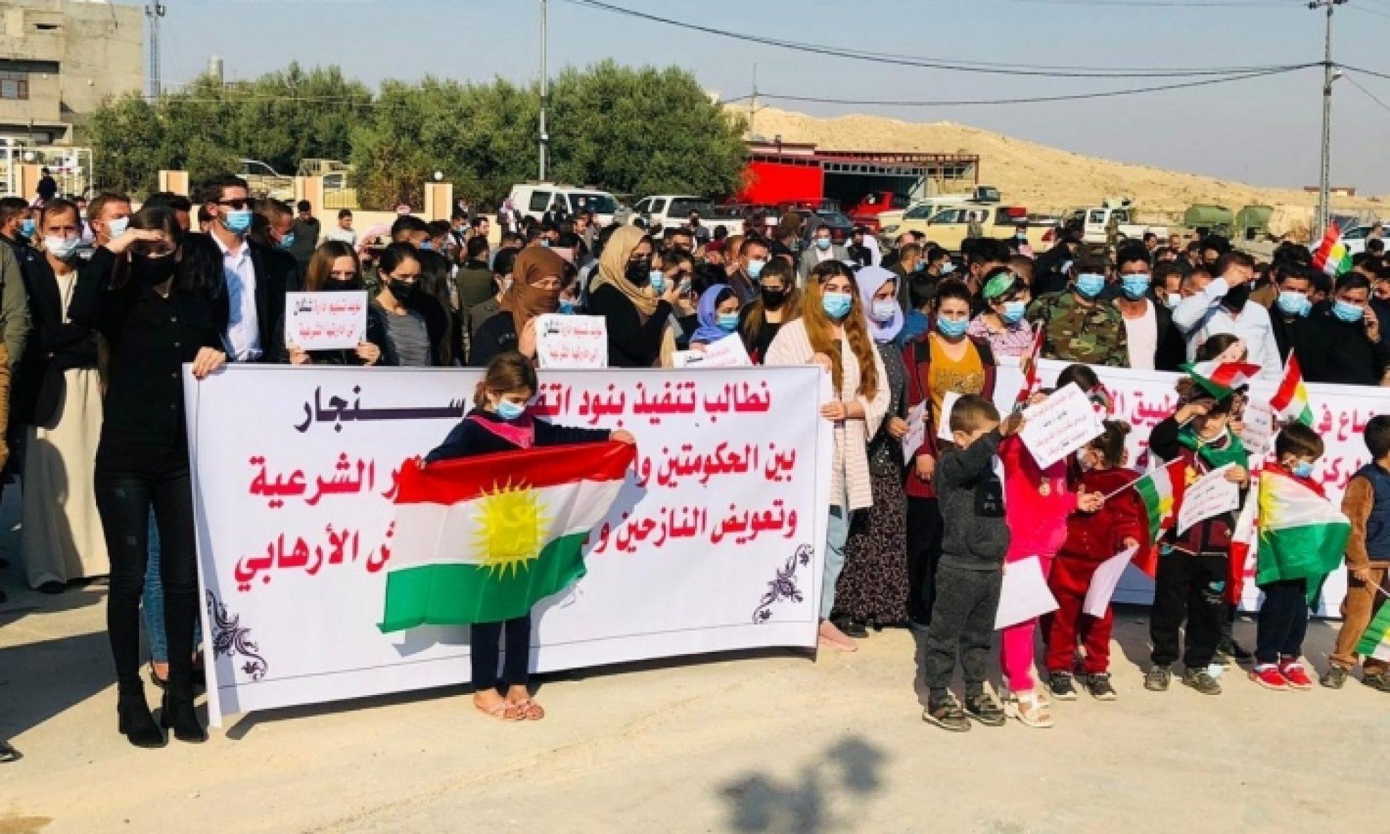Şengal halkı: Şengal PKK'nin savaş alanı değil