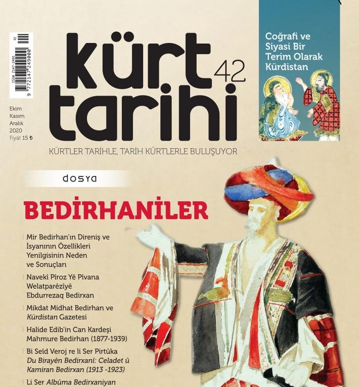 """Kürt Tarihi Dergisi'nin 42'inci Sayısı """"Bedirxaniler"""" dosyası ile çıktı"""