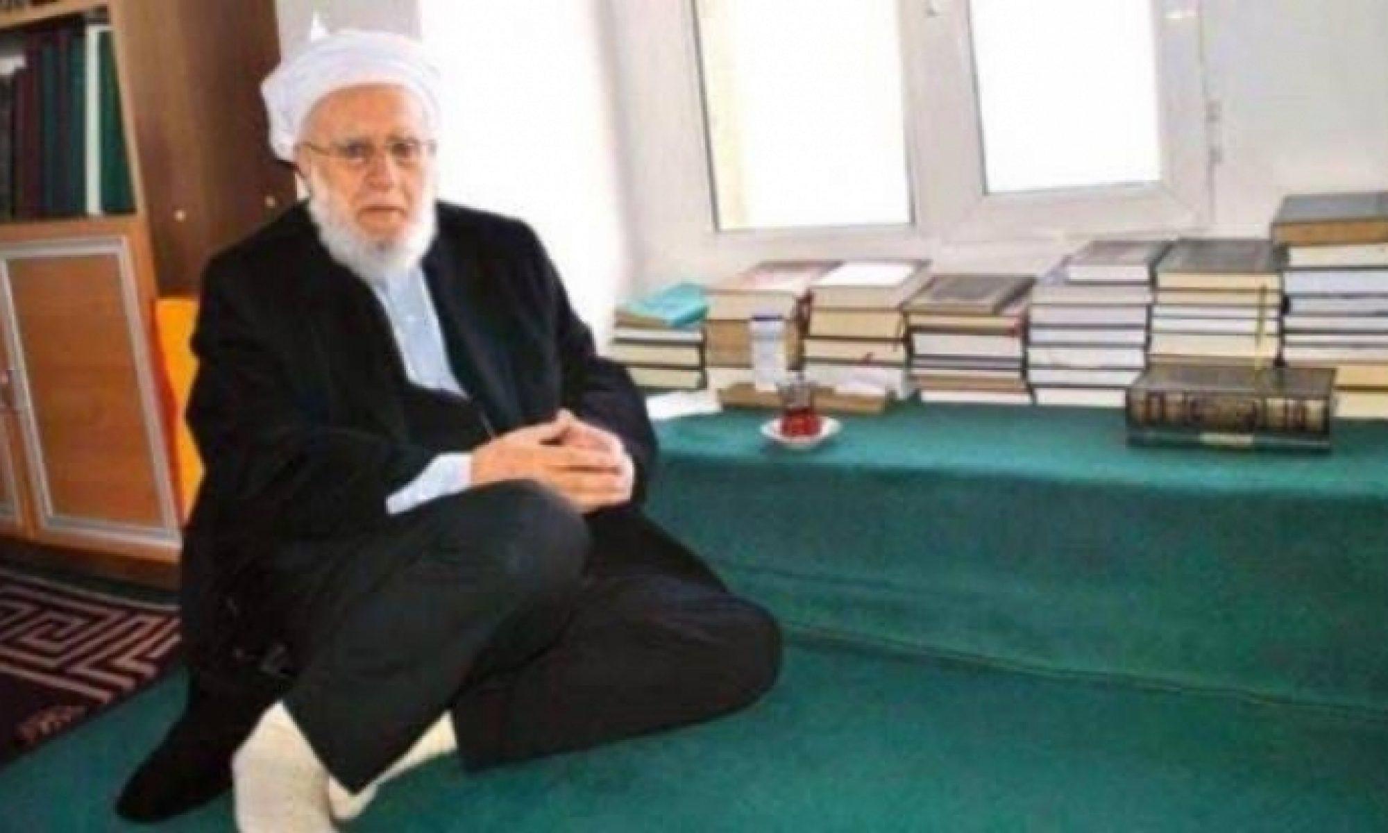 Medrese geleneğinin önemli temsilcilerinden Şeyh Nureddin Mutlu hayatını kaybetti