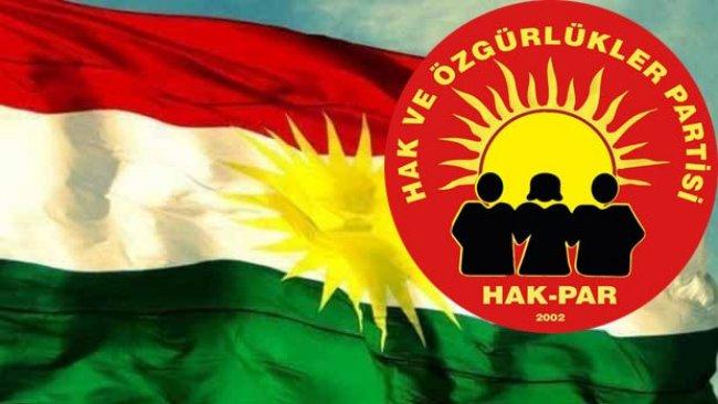 """HAK-PAR:""""PKK, Federal Kürdistan statüsünü zayıflatarak ortadan kaldırmayı amaçlayan düşman güçlerle iş birliği halindedir"""""""