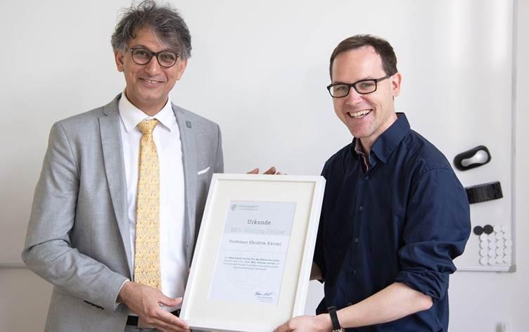 Kanada'da Herzberg Fizik Ödülü Doğu Kürdistanlı Kürt bilim insanı İbrahim Kerimi'ye verildi