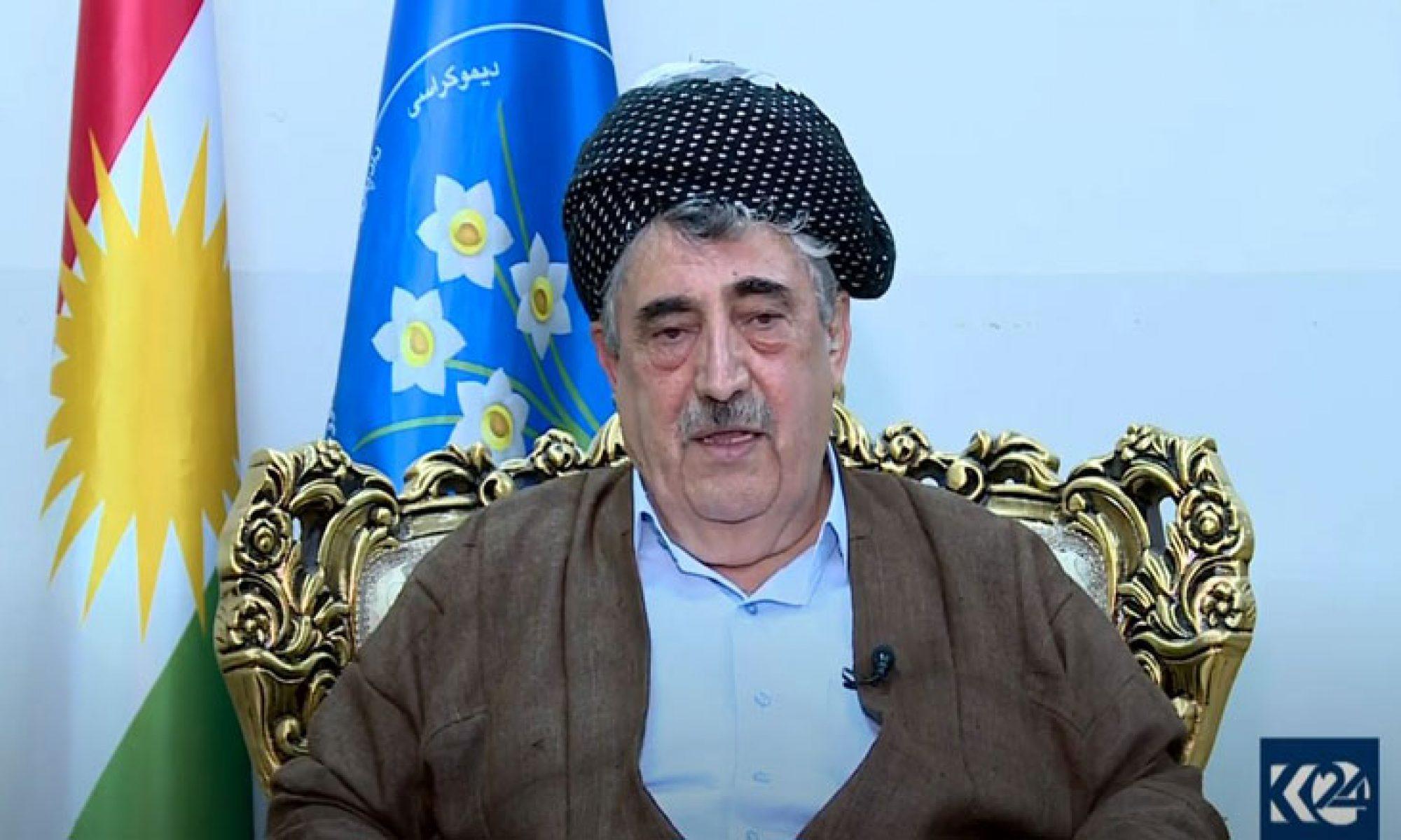 Muhammet Haci Mahmut: Irak için en iyi çözüm Konfederasyondur