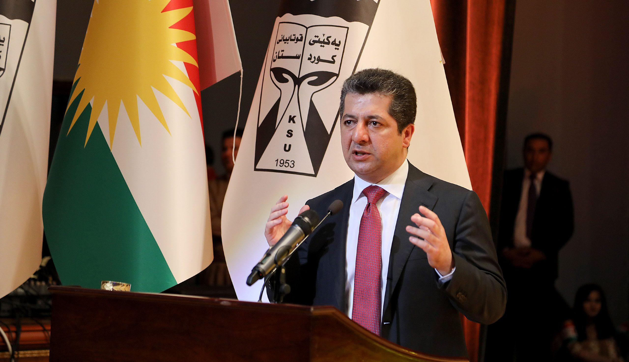 Başbakan Barzani: PKK Şengal'den çıkmadı, Haşdi Şabi , Bağdat, Kazımi, Mesrur barzani